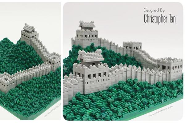 muraille de chine nanoblock