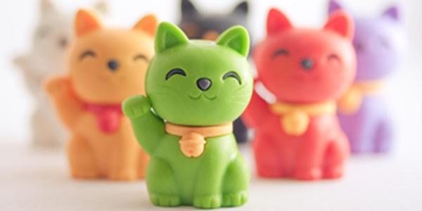 Le chat de la fortune nanoblock vous porte chance - Liste de porte bonheur ...