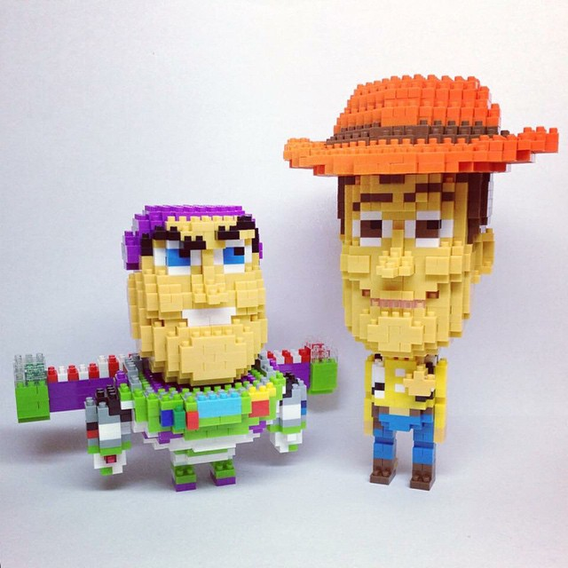 Buzz l'Eclair et Woody - Toy Story