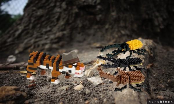 l'inspecteur tigre et les sacrabées