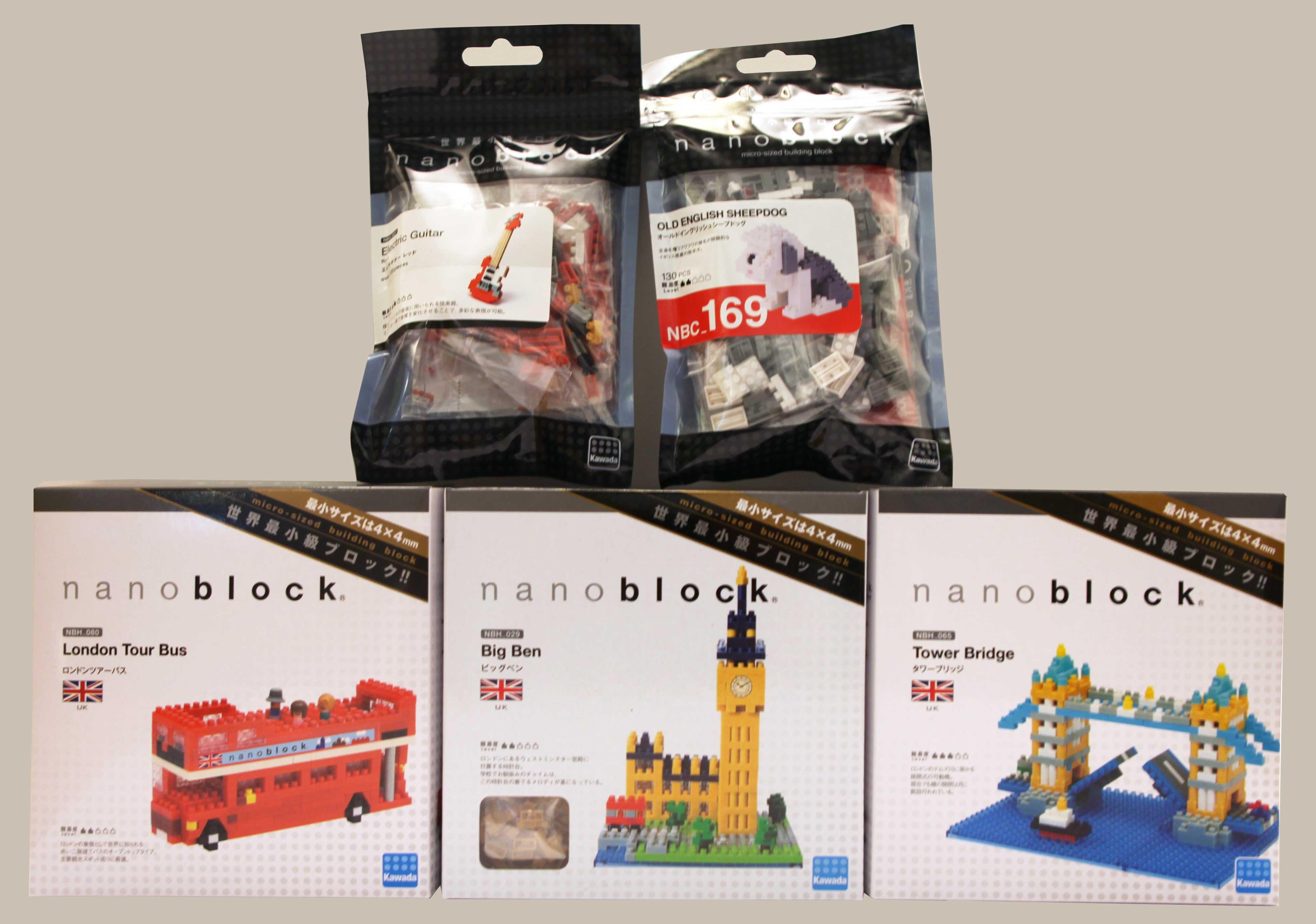 lot angleterre nanoblock